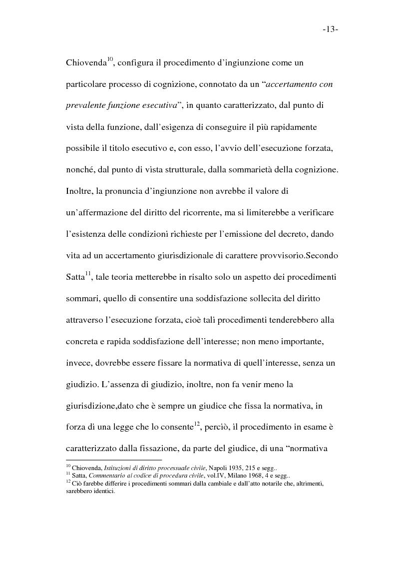 Anteprima della tesi: L'esecutorietà provvisoria del decreto ingiuntivo, Pagina 8