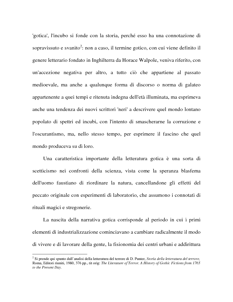 Anteprima della tesi: Il mostruoso in H.P. Lovecraft e Stephen King, Pagina 9