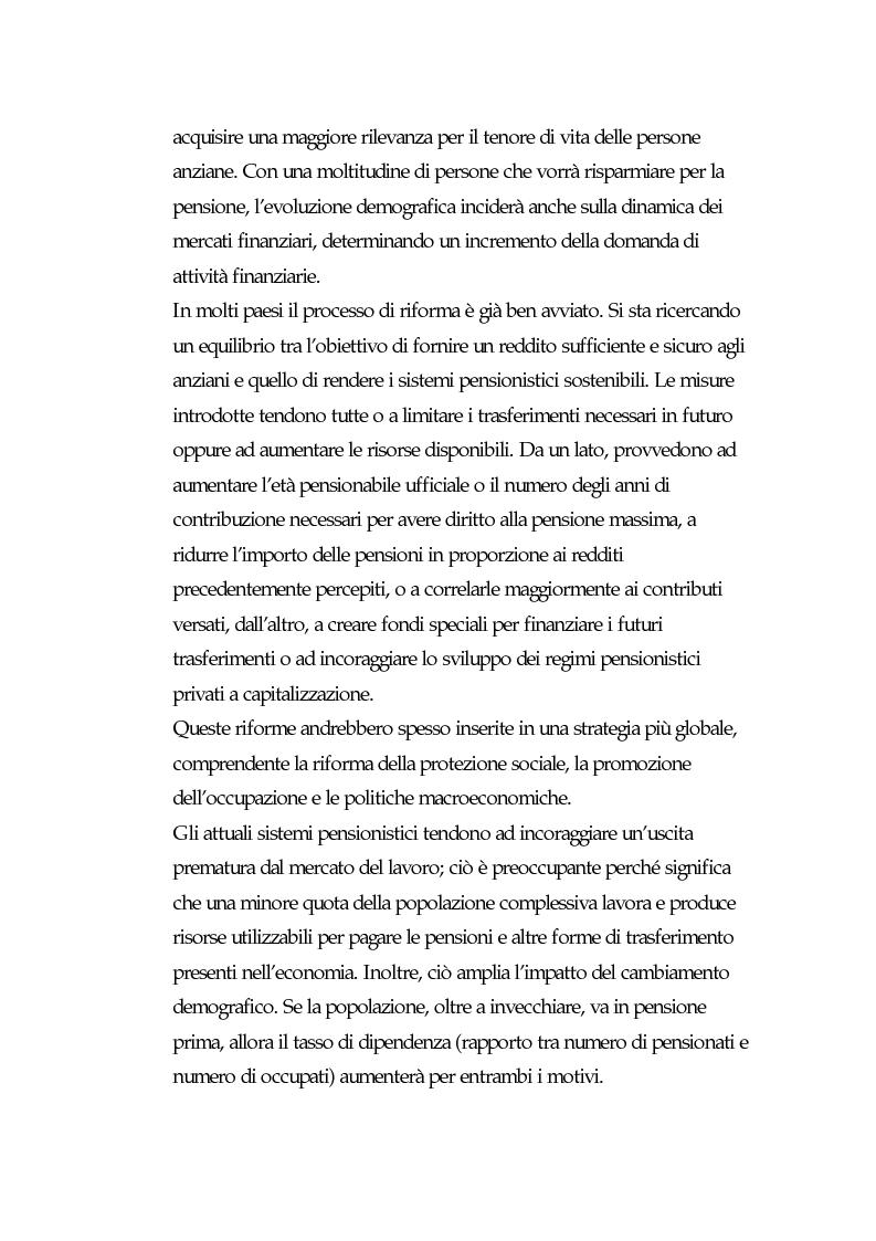 Anteprima della tesi: I fondi pensione: finora e in futuro, Pagina 11