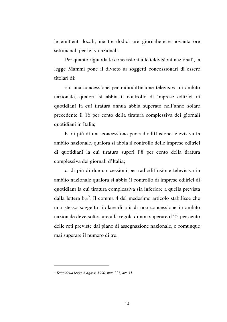 Anteprima della tesi: Palinsesti televisivi ed immagine di rete nelle televisioni locali: il caso di Bergamo tv, Pagina 10