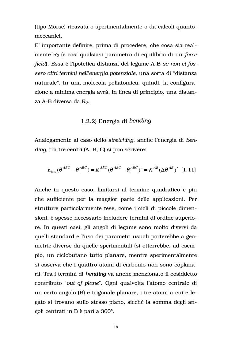 Anteprima della tesi: Studio delle proprietà energetiche e molecolari di sistemi chimici di interesse biologico con metodi teorico-computazionali, Pagina 12