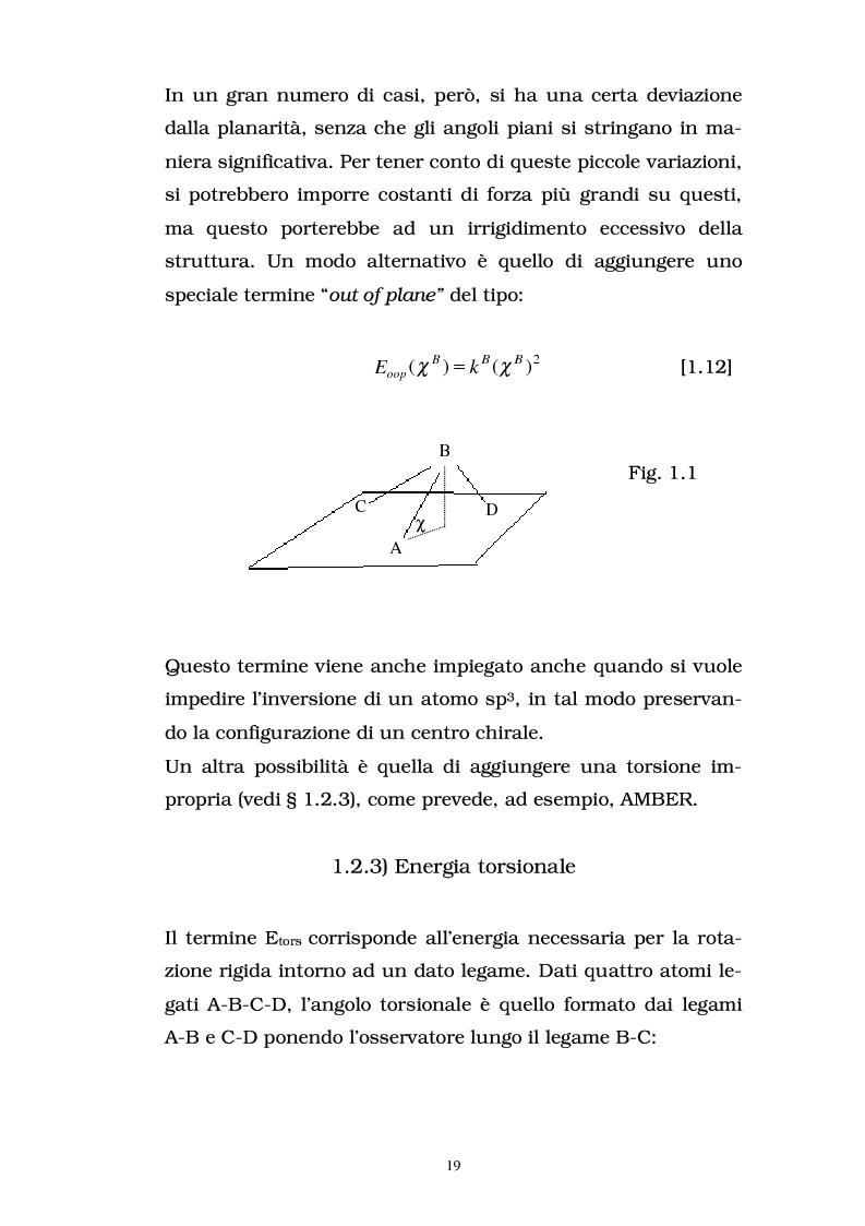 Anteprima della tesi: Studio delle proprietà energetiche e molecolari di sistemi chimici di interesse biologico con metodi teorico-computazionali, Pagina 13