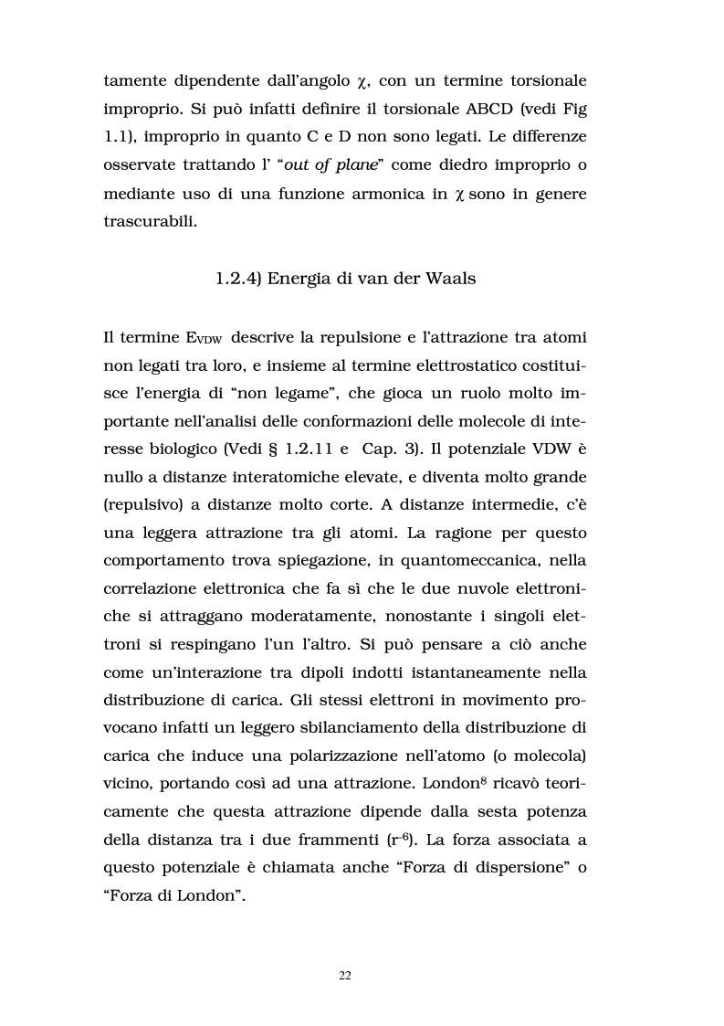 Anteprima della tesi: Studio delle proprietà energetiche e molecolari di sistemi chimici di interesse biologico con metodi teorico-computazionali, Pagina 16