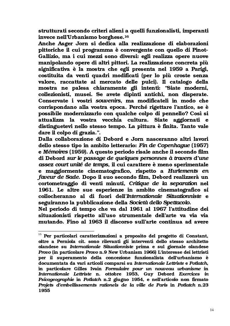Anteprima della tesi: Guy Debord - Tra avanguardia e critica sociale, Pagina 11