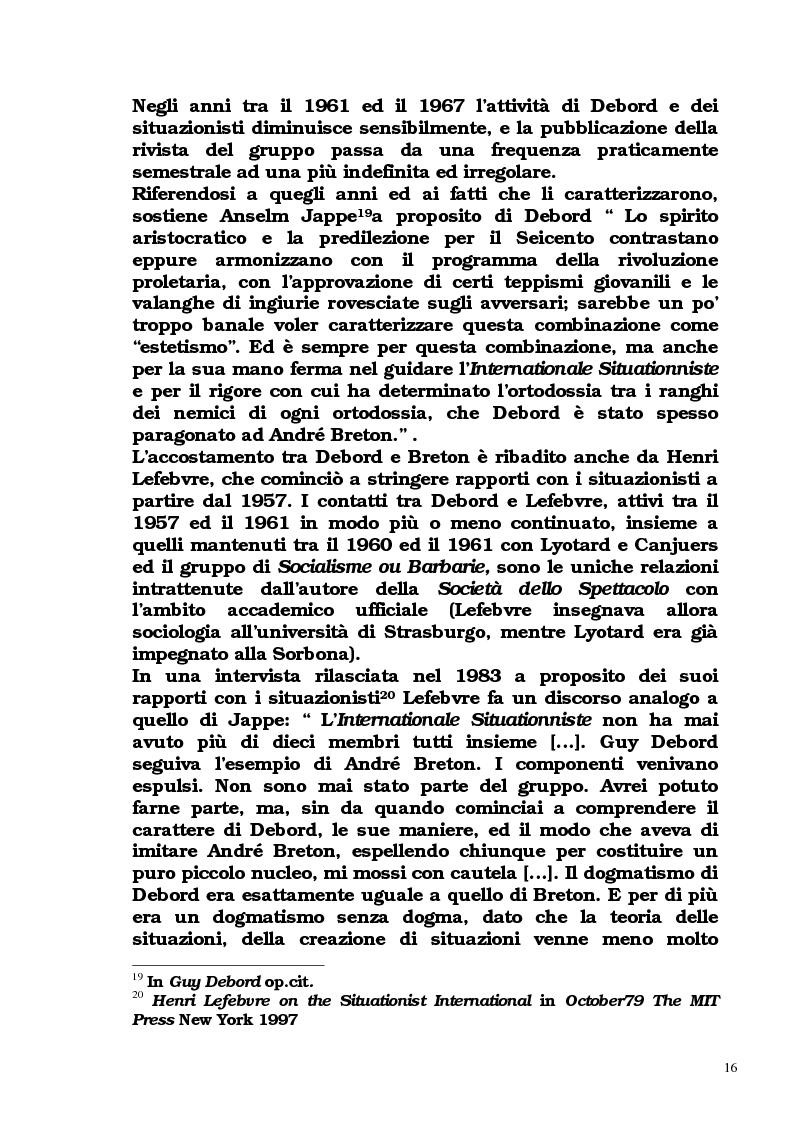 Anteprima della tesi: Guy Debord - Tra avanguardia e critica sociale, Pagina 13