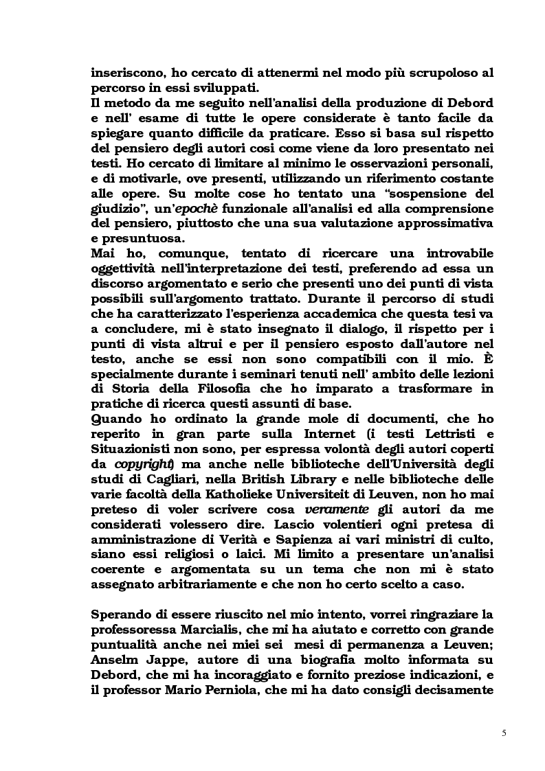Anteprima della tesi: Guy Debord - Tra avanguardia e critica sociale, Pagina 2