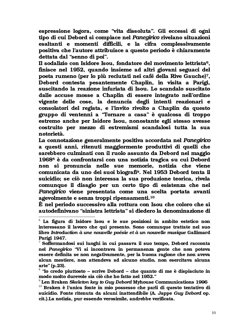 Anteprima della tesi: Guy Debord - Tra avanguardia e critica sociale, Pagina 7