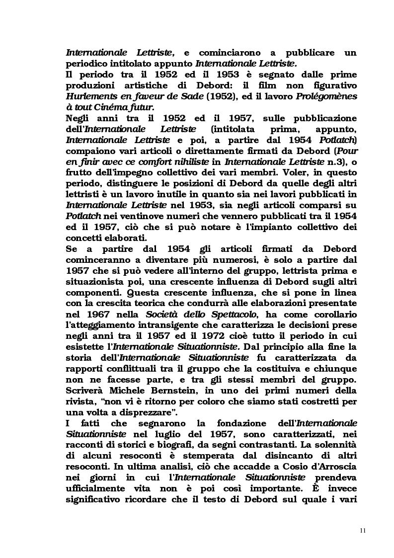 Anteprima della tesi: Guy Debord - Tra avanguardia e critica sociale, Pagina 8