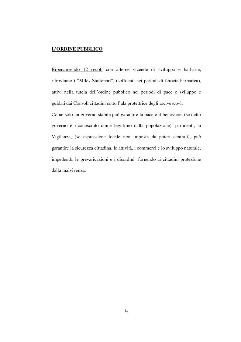 Anteprima della tesi: Sicurezza e comunità: il vigile di quartiere, Pagina 9