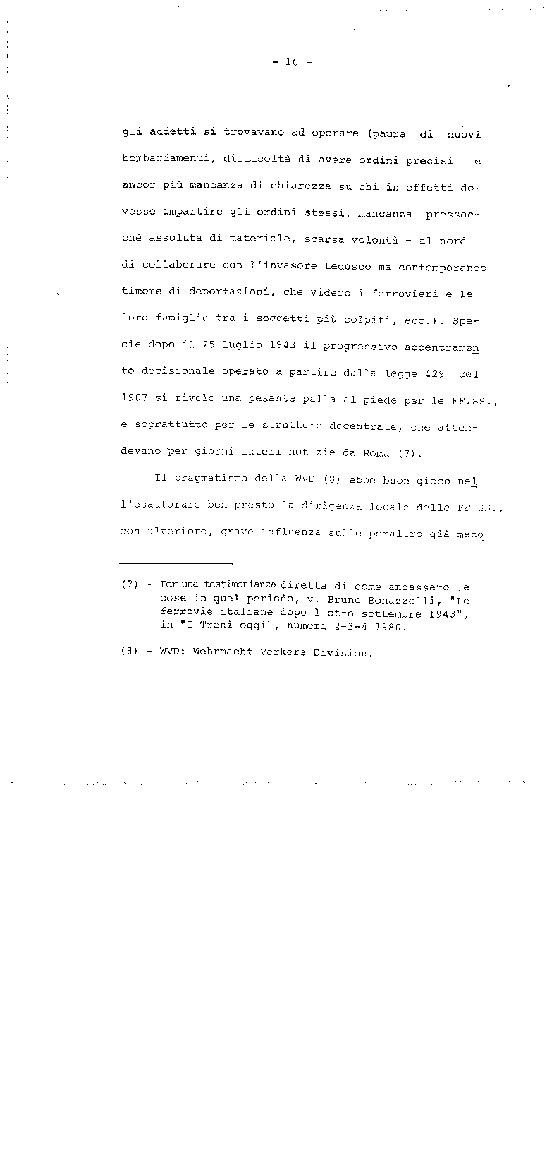 Anteprima della tesi: La trasformazione delle Ferrovie dello Stato - Legge 210/85, Pagina 10