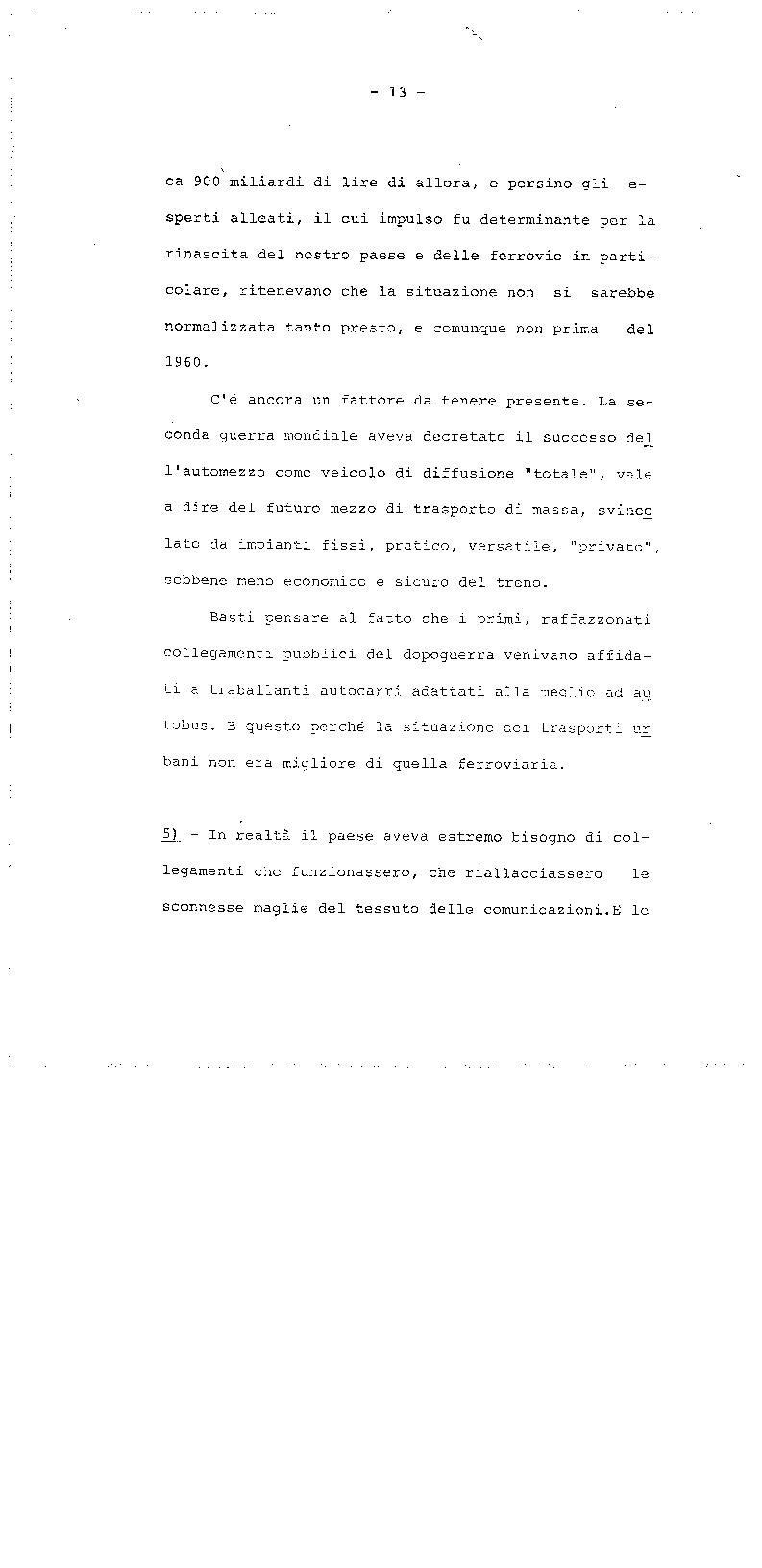Anteprima della tesi: La trasformazione delle Ferrovie dello Stato - Legge 210/85, Pagina 13