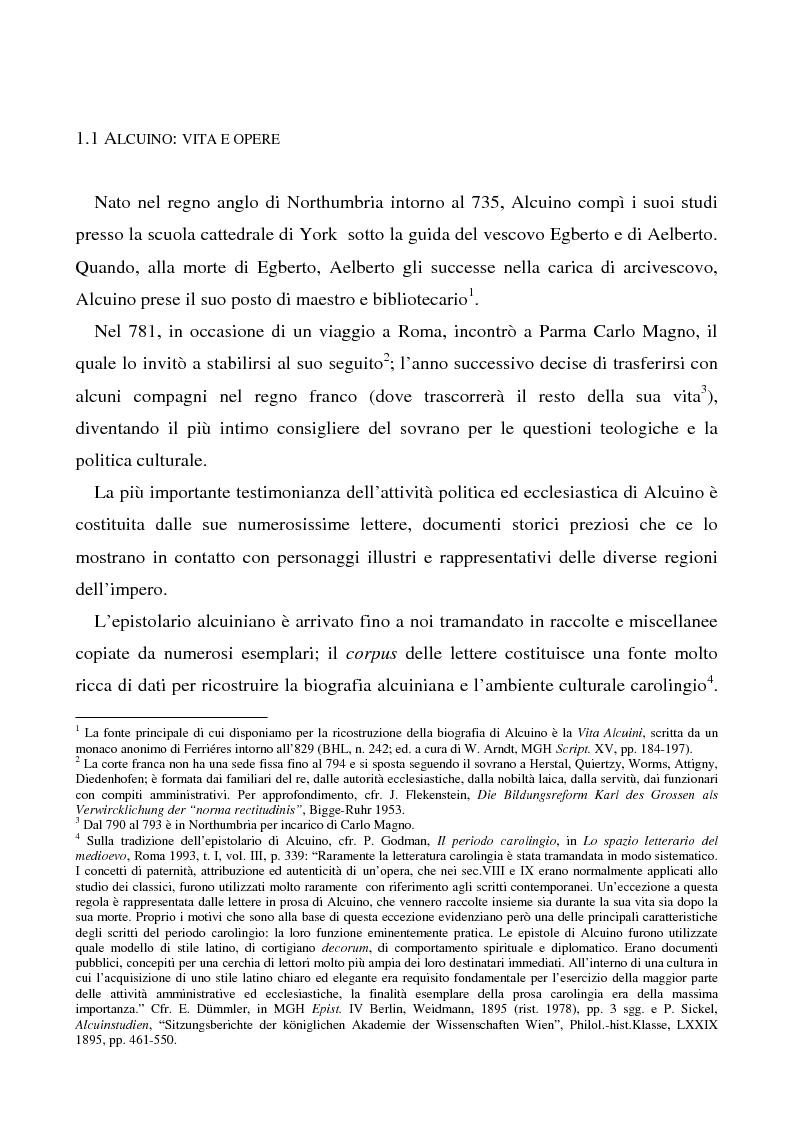 Anteprima della tesi: Il Liber manualis, commento ai salmi penitenziali, 118 e graduali di Alcuino di York, Pagina 1