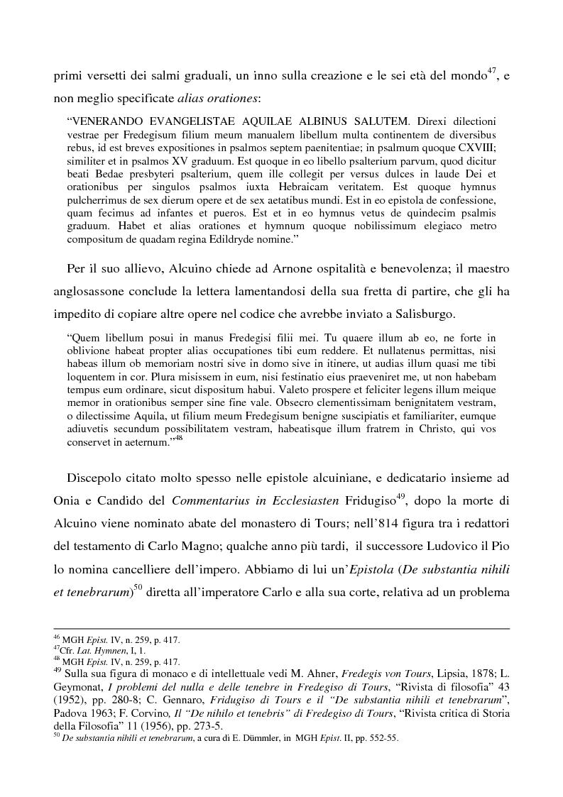 Anteprima della tesi: Il Liber manualis, commento ai salmi penitenziali, 118 e graduali di Alcuino di York, Pagina 13