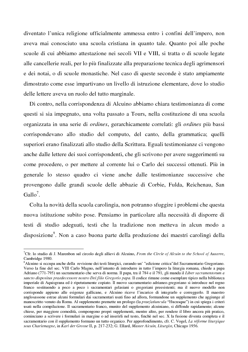 Anteprima della tesi: Il Liber manualis, commento ai salmi penitenziali, 118 e graduali di Alcuino di York, Pagina 3