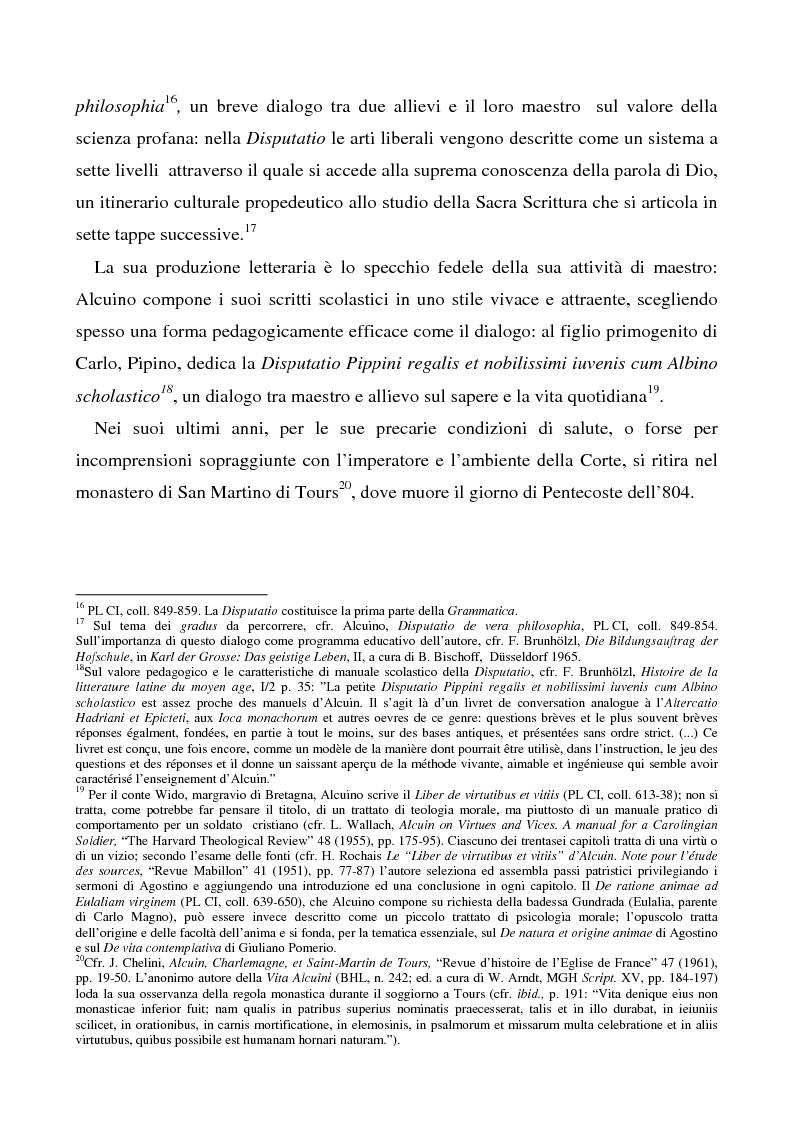 Anteprima della tesi: Il Liber manualis, commento ai salmi penitenziali, 118 e graduali di Alcuino di York, Pagina 5
