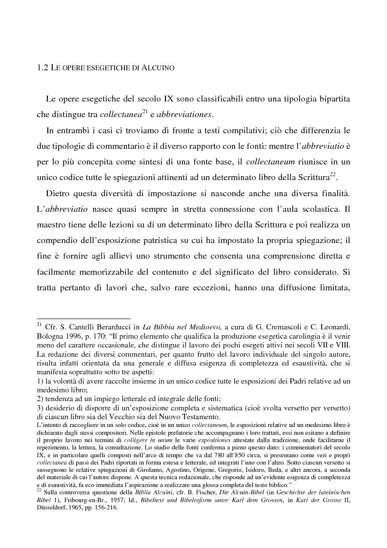Anteprima della tesi: Il Liber manualis, commento ai salmi penitenziali, 118 e graduali di Alcuino di York, Pagina 6