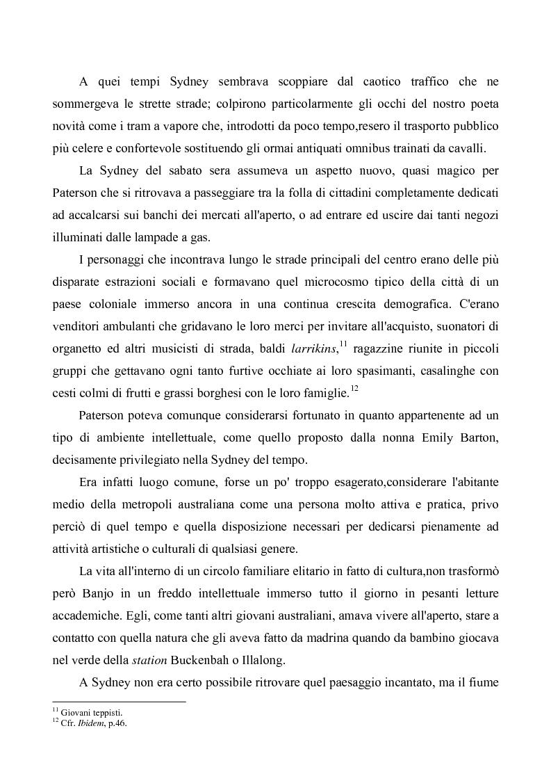 """Anteprima della tesi: """"Banjo"""" Paterson: la ballata e il bush, Pagina 8"""