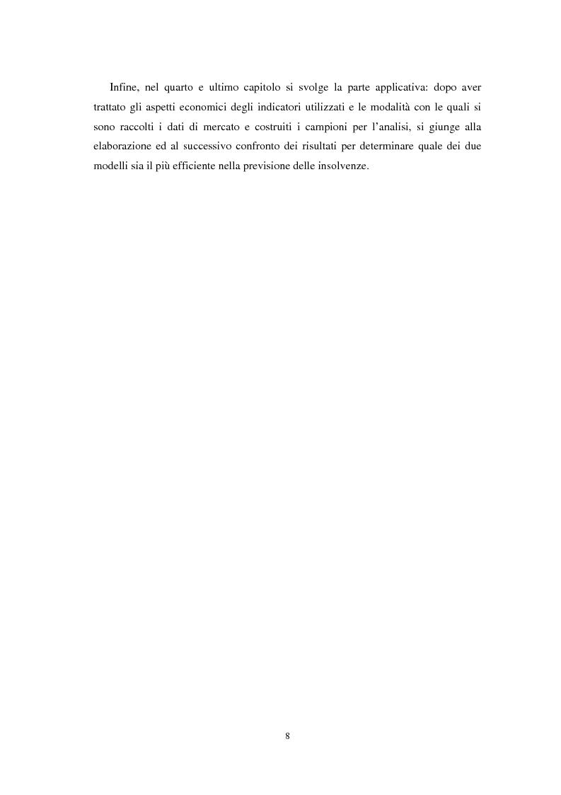 Anteprima della tesi: Applicazioni statistiche delle reti neurali alle insolvenze delle compagnie di assicurazione, Pagina 4