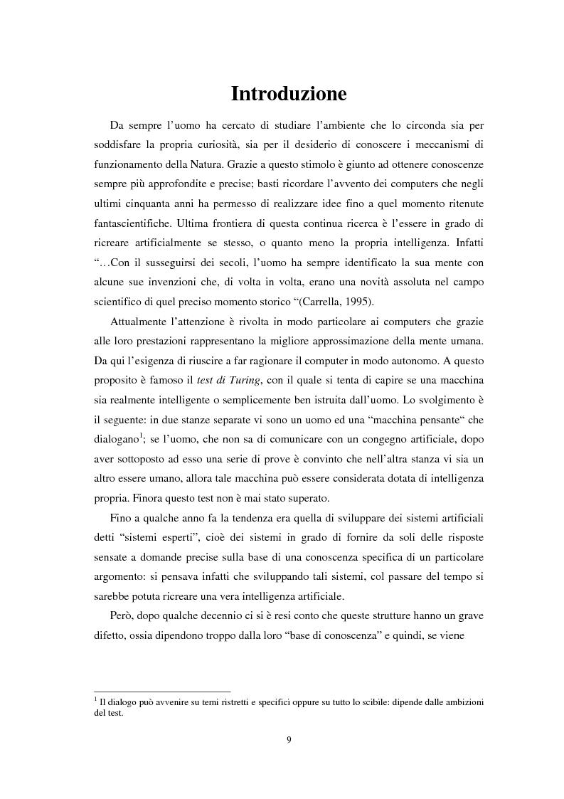 Anteprima della tesi: Applicazioni statistiche delle reti neurali alle insolvenze delle compagnie di assicurazione, Pagina 5