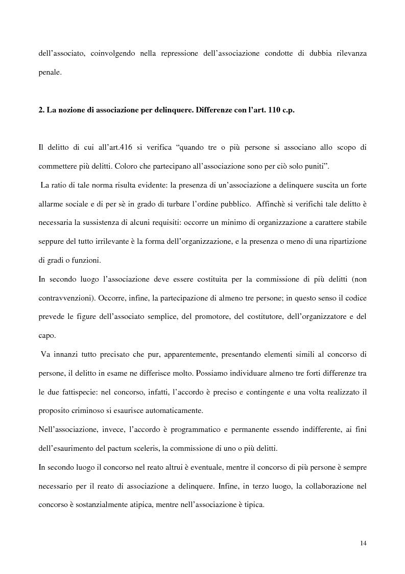 Anteprima della tesi: Il concorso esterno all'associazione mafiosa, Pagina 10