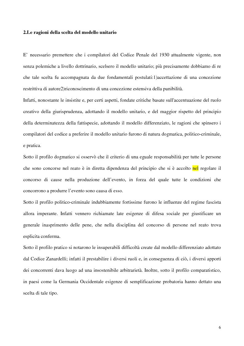 Anteprima della tesi: Il concorso esterno all'associazione mafiosa, Pagina 2