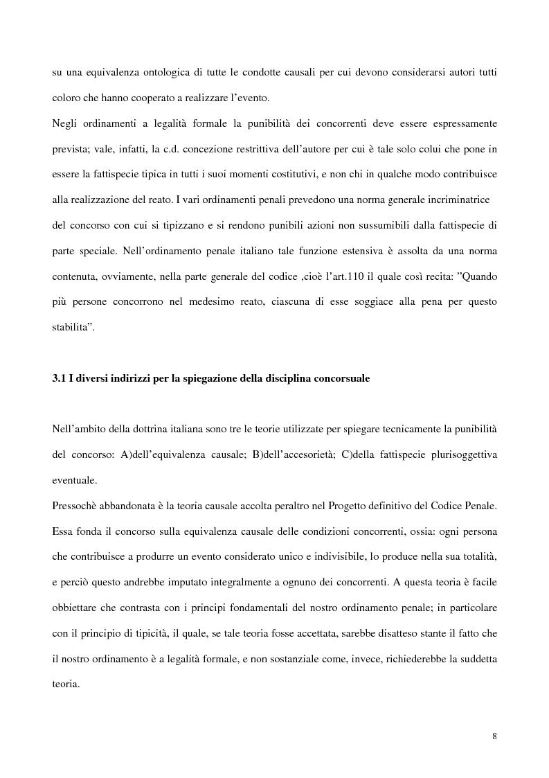 Anteprima della tesi: Il concorso esterno all'associazione mafiosa, Pagina 4