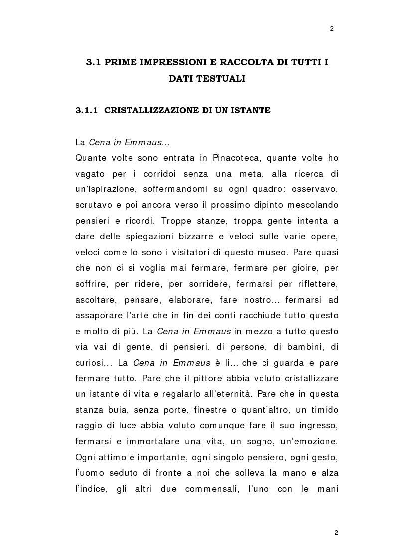 Anteprima della tesi: La verifica empirica del modello di economia dell'arte, Pagina 2