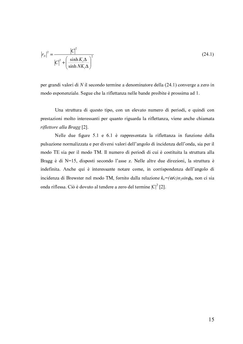 Anteprima della tesi: Dispositivi a banda fotonica proibita a cristalli liquidi, Pagina 15