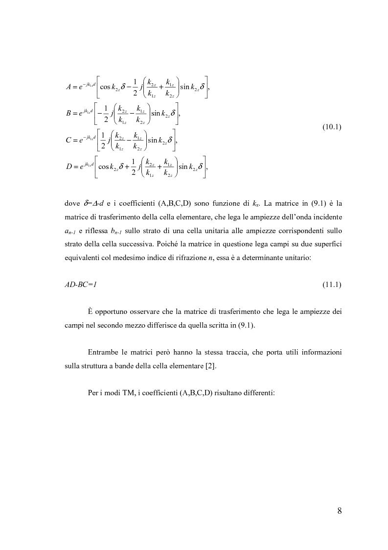 Anteprima della tesi: Dispositivi a banda fotonica proibita a cristalli liquidi, Pagina 8