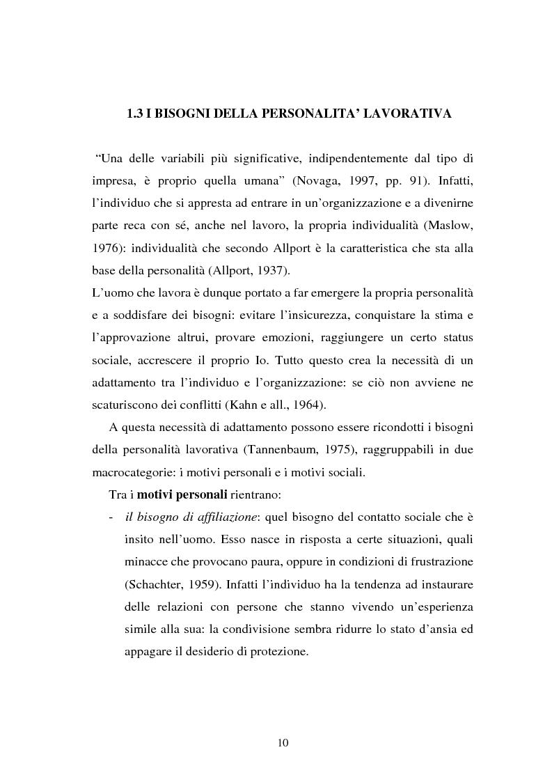 Anteprima della tesi: Flessibilità e mediazione del lavoro temporaneo: un caso aziendale, Pagina 7