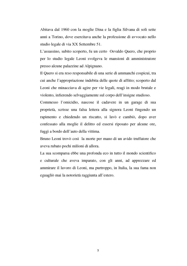 Anteprima della tesi: L'idea di uno stato privo di coercizioni nella filosofia del diritto di Bruno Leoni, Pagina 6
