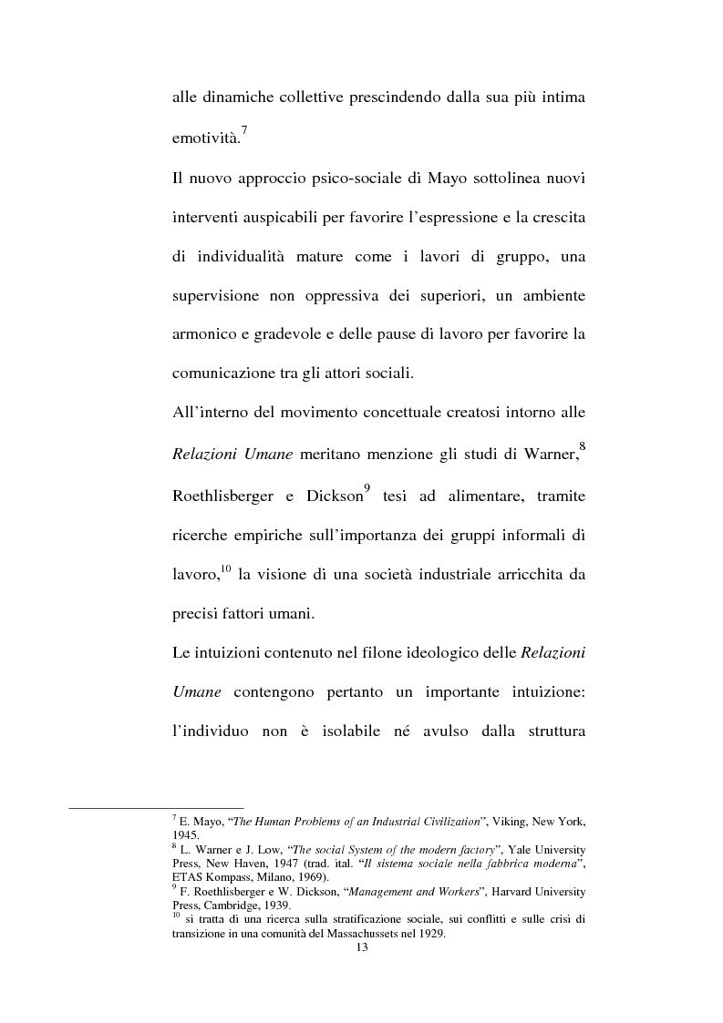 Anteprima della tesi: Individualità e agire collettivo. Il rischio e gli altri agenti che riconsegnano identità all'attore sociale, Pagina 11