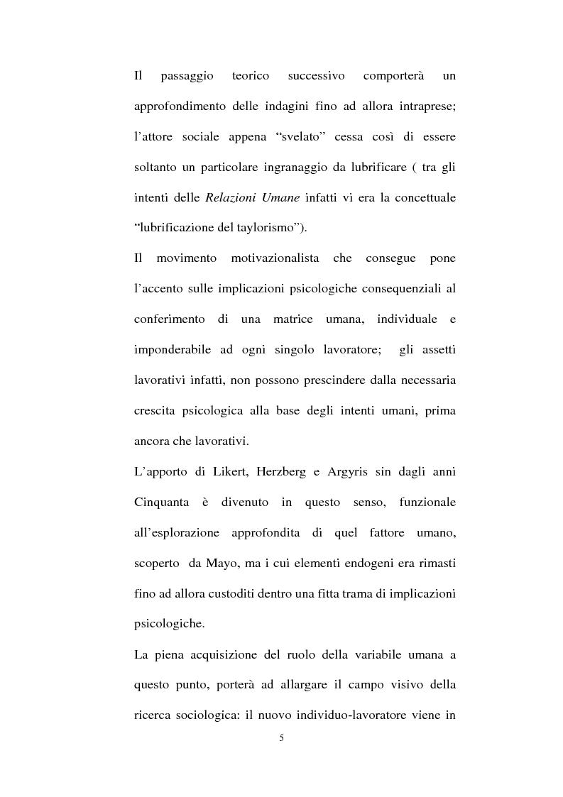Anteprima della tesi: Individualità e agire collettivo. Il rischio e gli altri agenti che riconsegnano identità all'attore sociale, Pagina 3