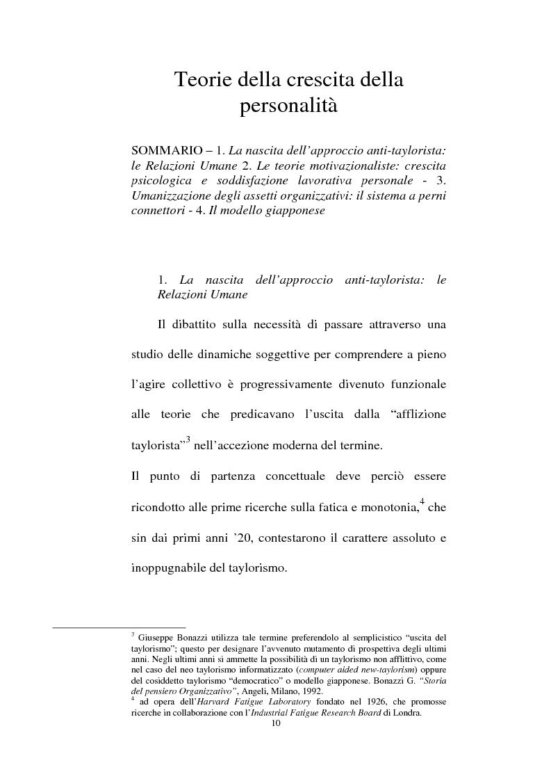 Anteprima della tesi: Individualità e agire collettivo. Il rischio e gli altri agenti che riconsegnano identità all'attore sociale, Pagina 8