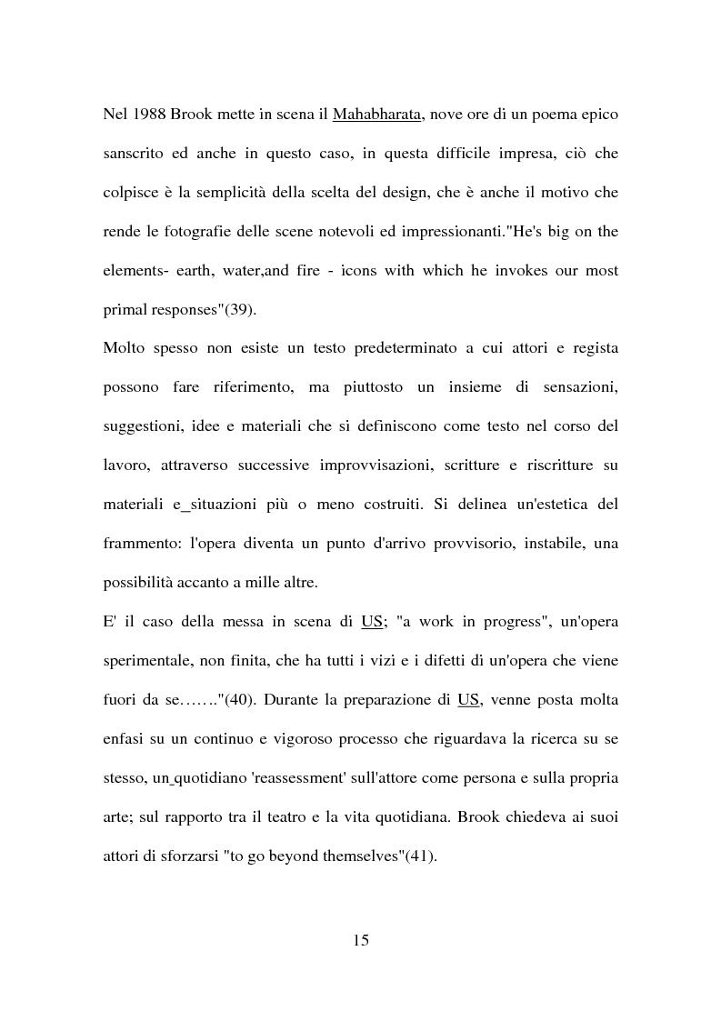 Anteprima della tesi: Peter Brook: appunti di regia, Pagina 13