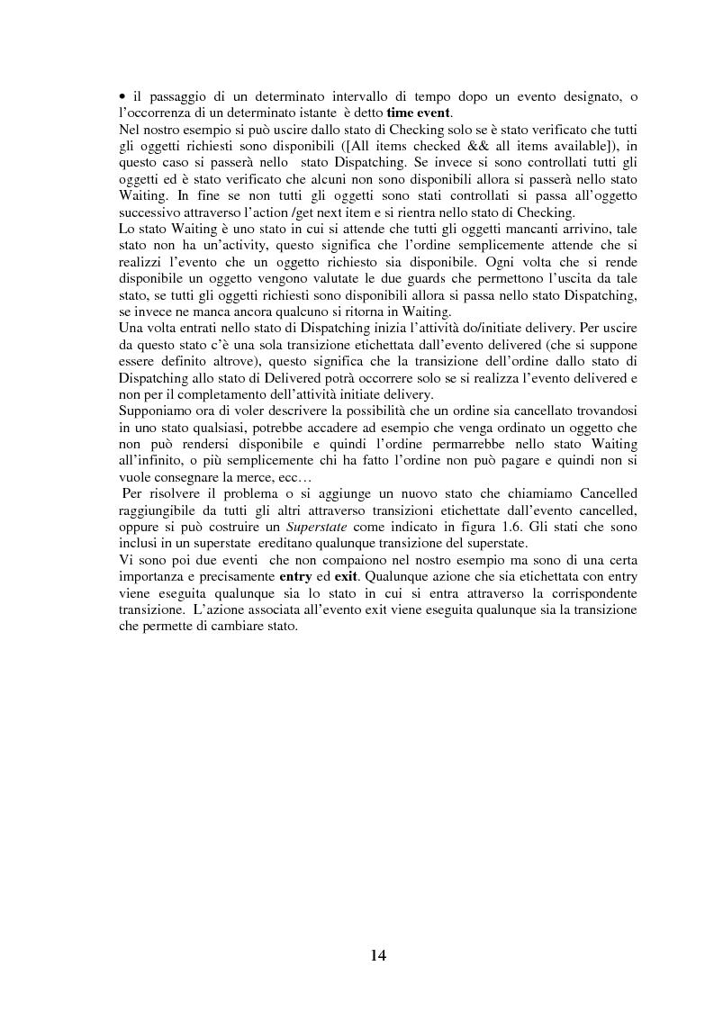 Anteprima della tesi: La modellizzazione di sistemi tolleranti ai guasti con Gspn e Uml e sua applicazione nel progetto Tiran, Pagina 14