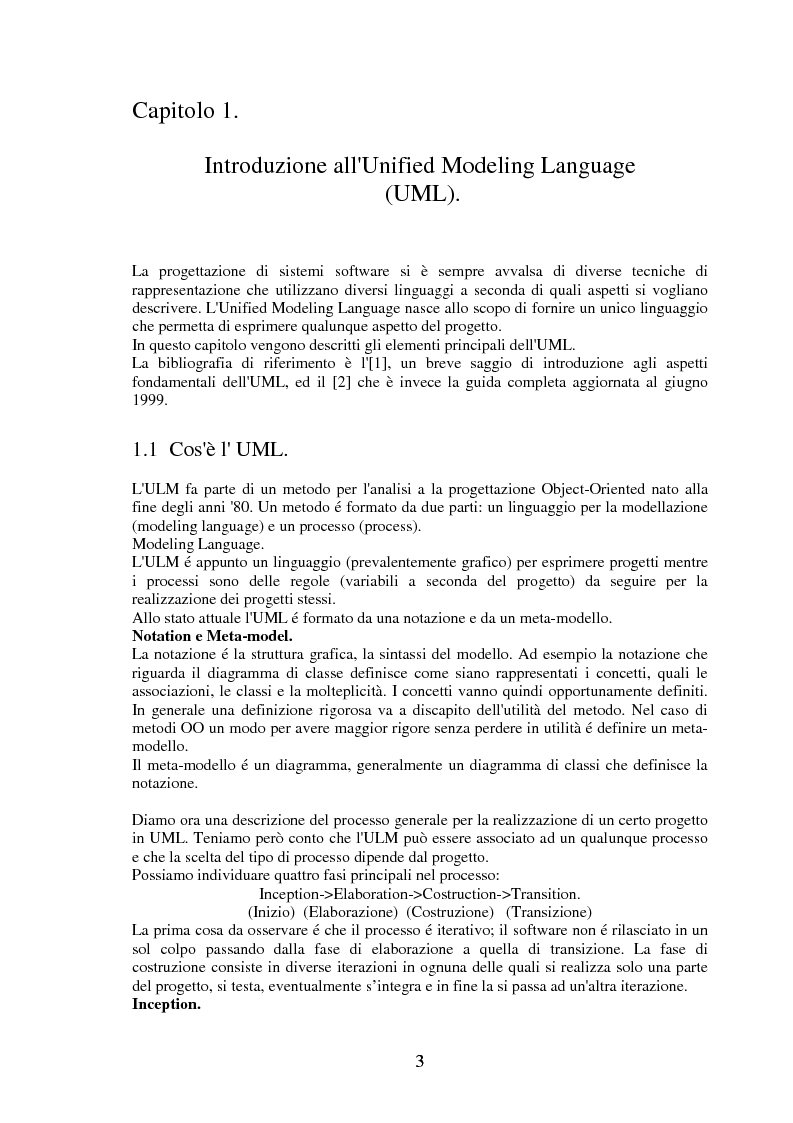 Anteprima della tesi: La modellizzazione di sistemi tolleranti ai guasti con Gspn e Uml e sua applicazione nel progetto Tiran, Pagina 3