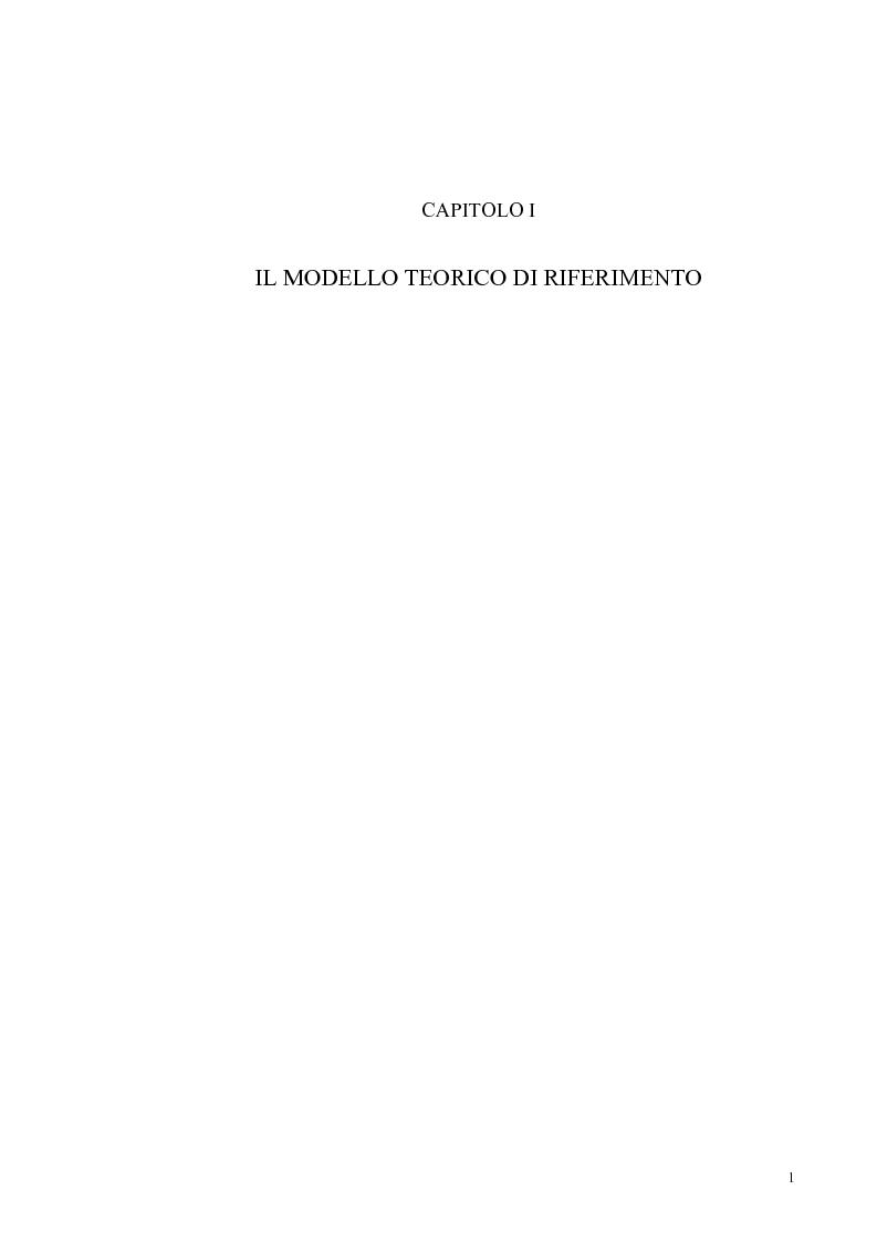 Anteprima della tesi: Un modello econometrico per l'analisi e la previsione dei tassi d'interesse nel mercato monetario, Pagina 5