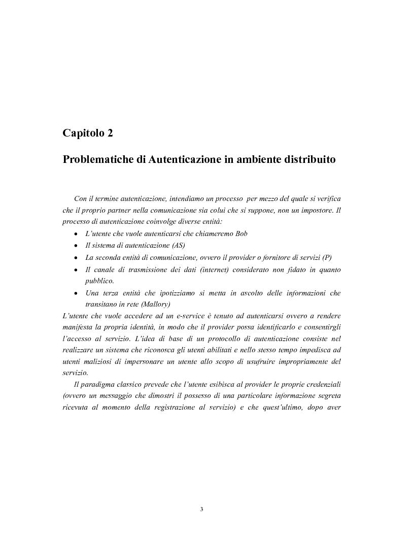 Anteprima della tesi: Progetto di sistemi di autorizzazione: un caso di studio per la Pubblica Amministrazione, Pagina 4