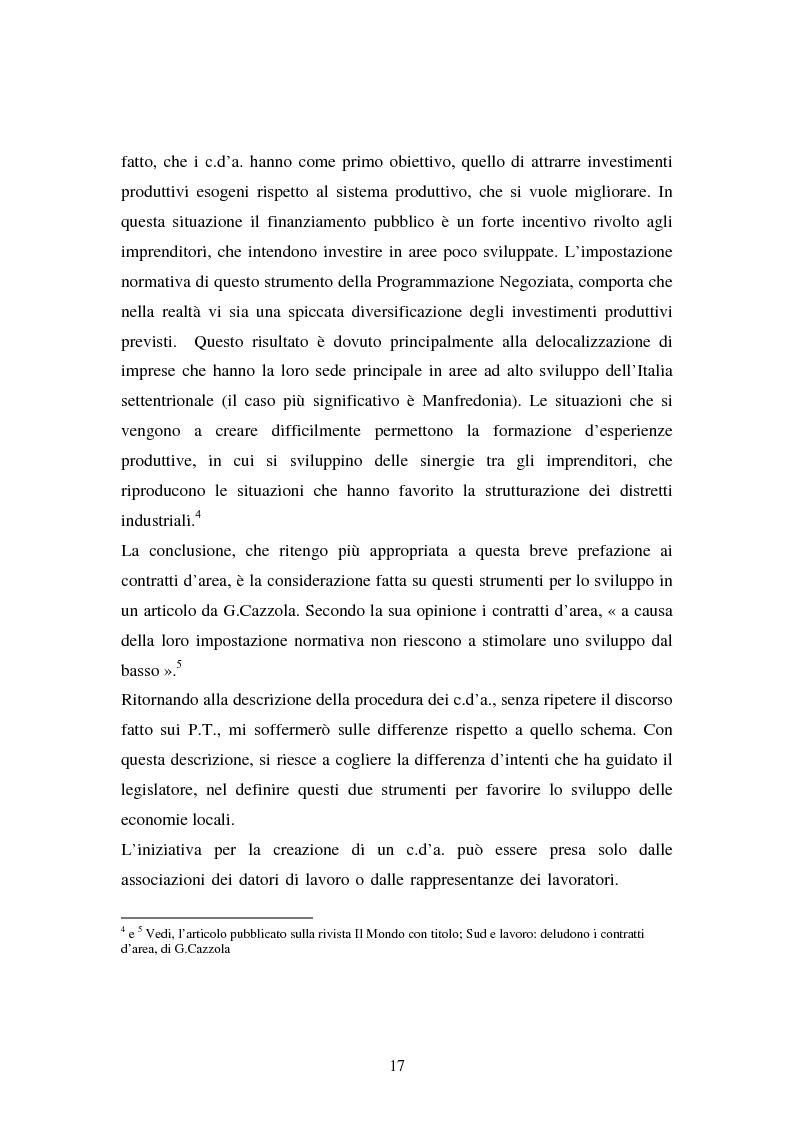 Anteprima della tesi: Le esperienze dei patti territoriali e la concertazione locale. Il caso Trieste., Pagina 15