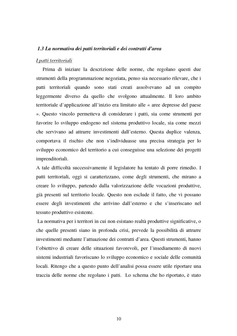 Anteprima della tesi: Le esperienze dei patti territoriali e la concertazione locale. Il caso Trieste., Pagina 8