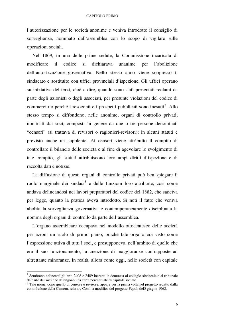 Anteprima della tesi: I mutamenti della revisione contabile alla luce del testo unico della finanza, Pagina 6