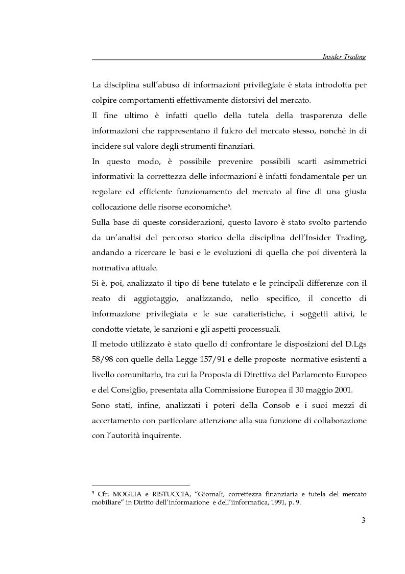 Anteprima della tesi: L'insider trading, Pagina 3