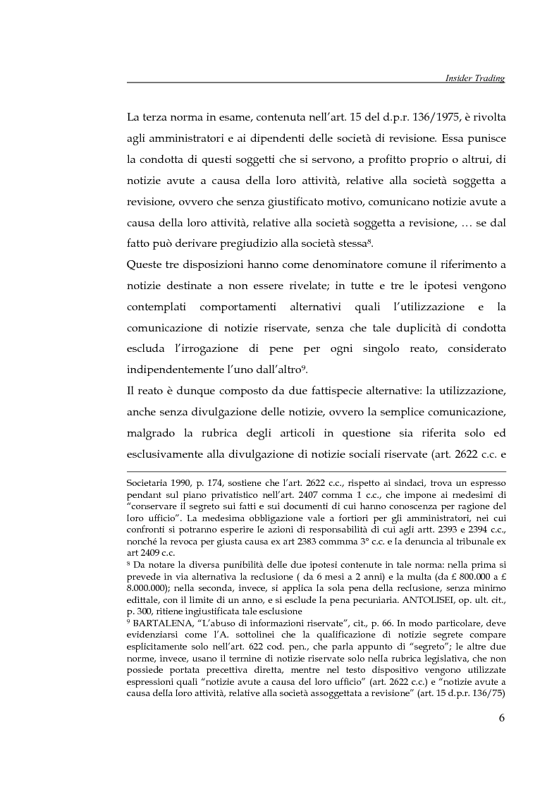 Anteprima della tesi: L'insider trading, Pagina 6