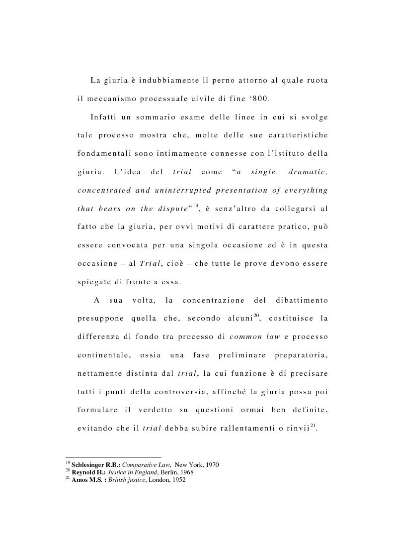 Anteprima della tesi: La riforma dell'ordinamento giudiziario nell'Inghilterra di fine '800, Pagina 11