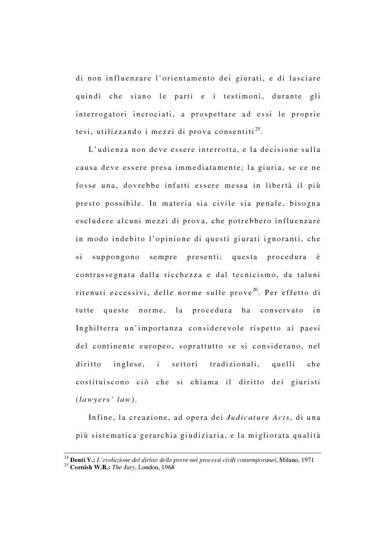 Anteprima della tesi: La riforma dell'ordinamento giudiziario nell'Inghilterra di fine '800, Pagina 13