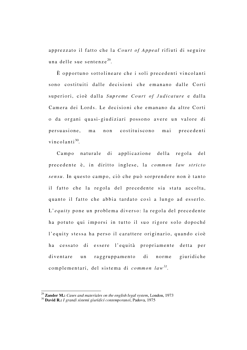 Anteprima della tesi: La riforma dell'ordinamento giudiziario nell'Inghilterra di fine '800, Pagina 15