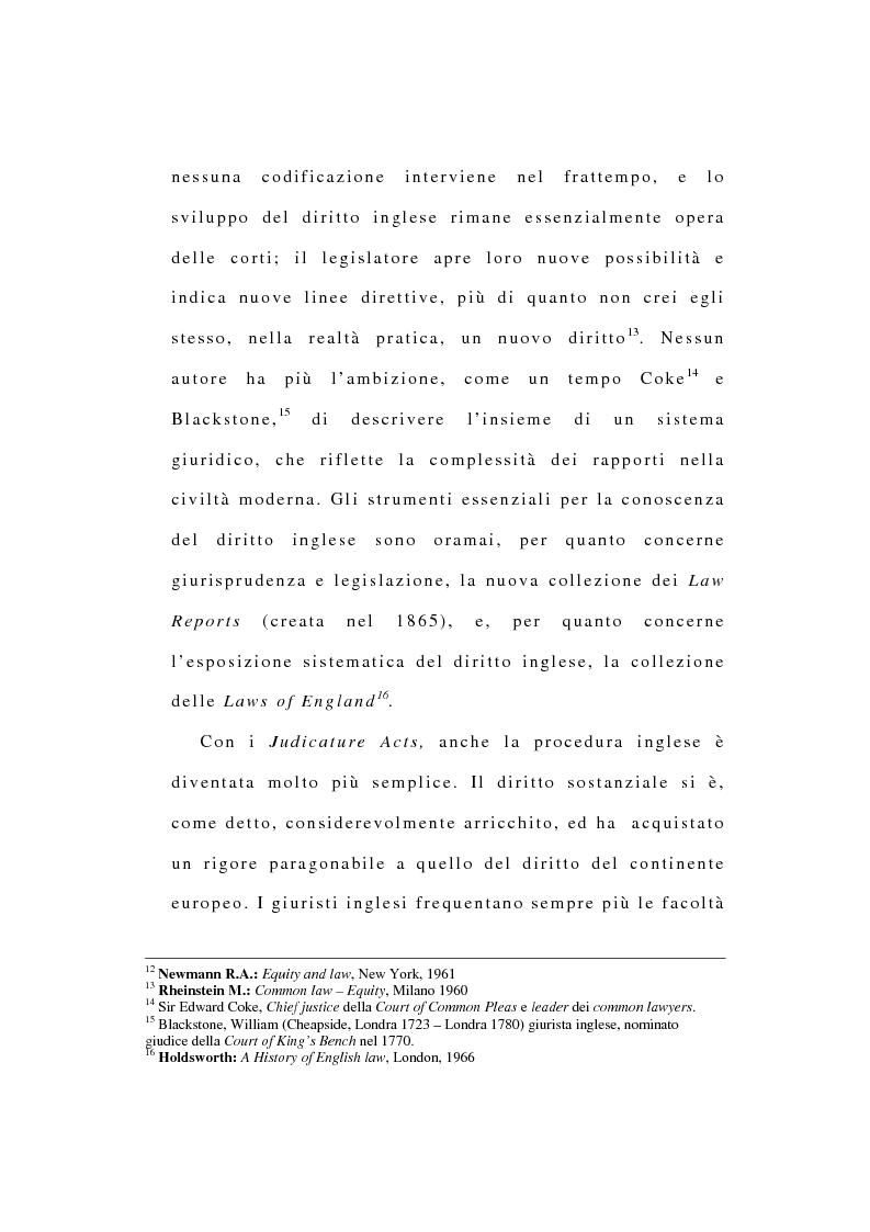 Anteprima della tesi: La riforma dell'ordinamento giudiziario nell'Inghilterra di fine '800, Pagina 9