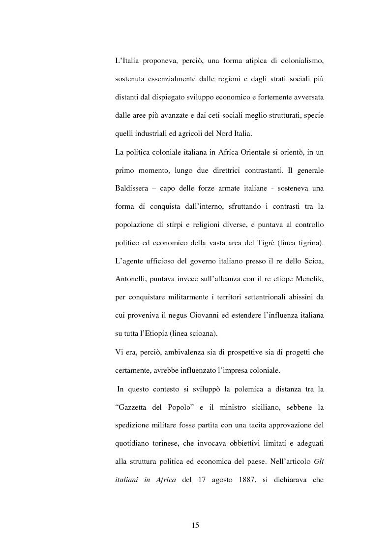 Anteprima della tesi: La Gazzetta del Popolo in età crispina, Pagina 11