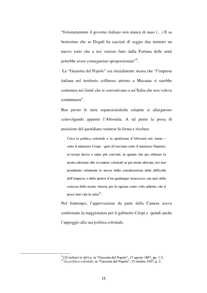 Anteprima della tesi: La Gazzetta del Popolo in età crispina, Pagina 12